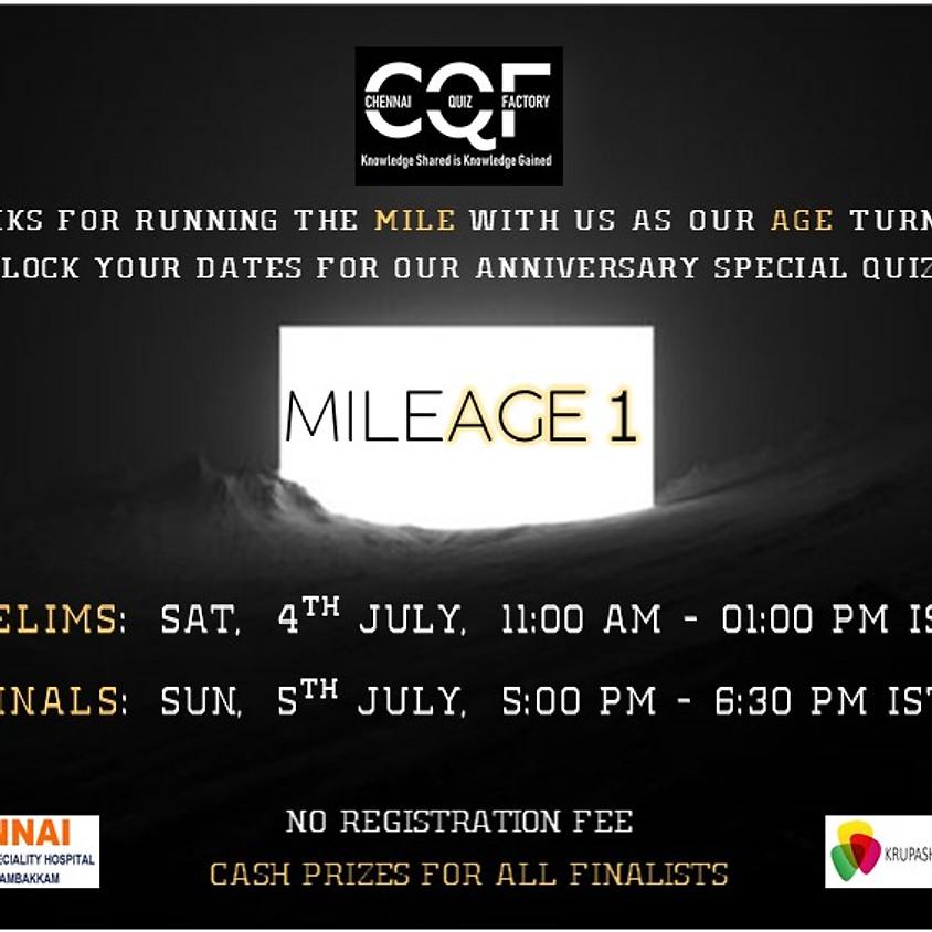 Milage 1 | Chennai Quiz Factory
