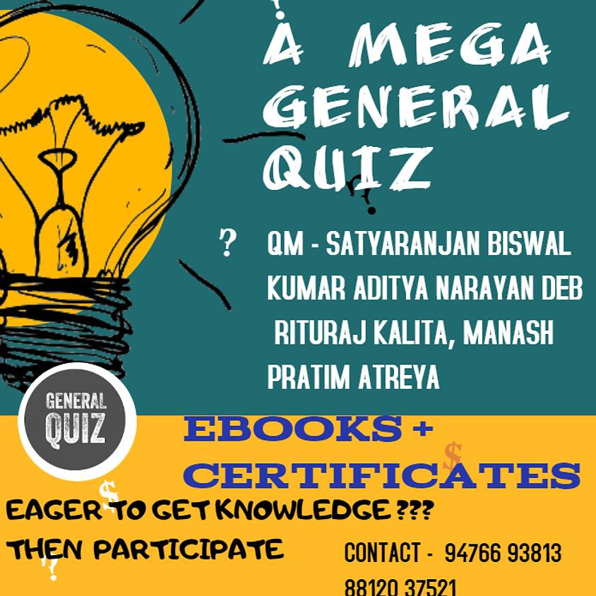 A Mega General Quiz | For school students upto class 12