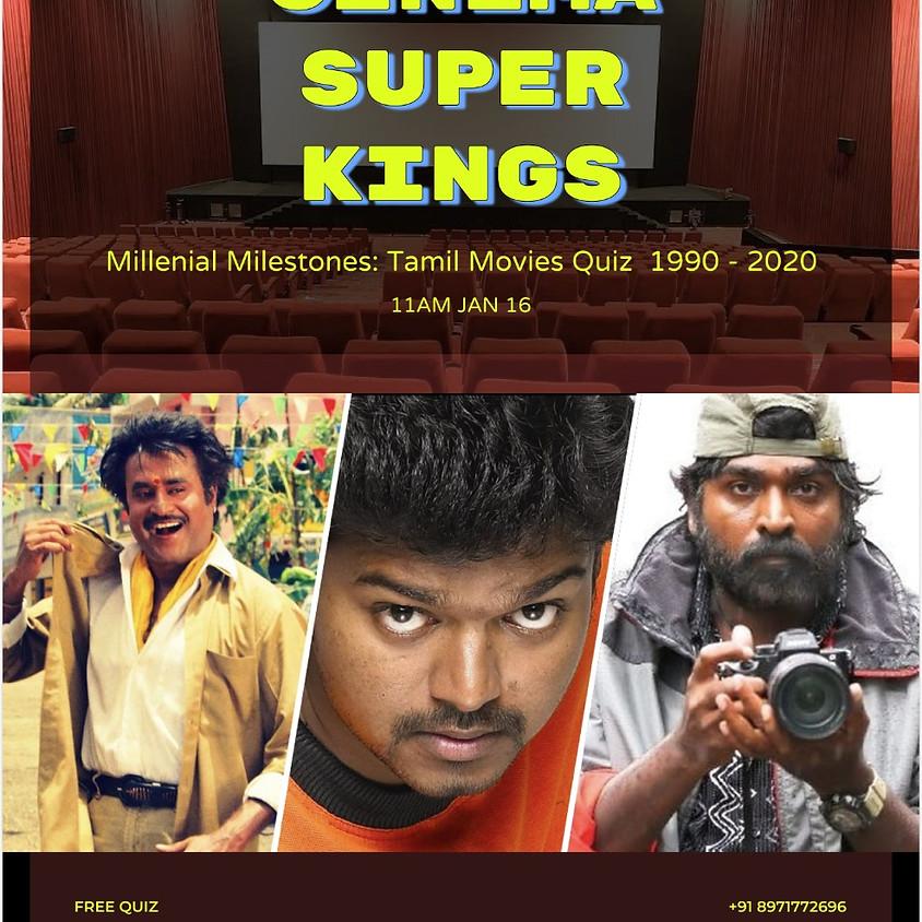 Cinema Super Kings Quiz