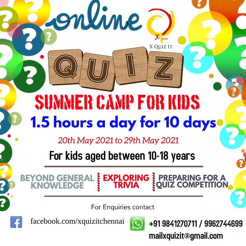 Quiz Summer Camp