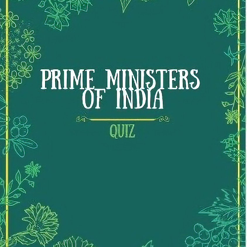 Prime Ministers of India Quiz