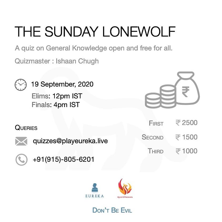 The Saturday Lonewolf