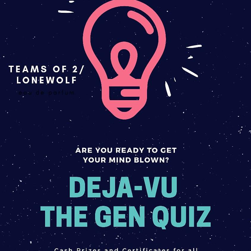 Deja Vu - The Gen Quiz