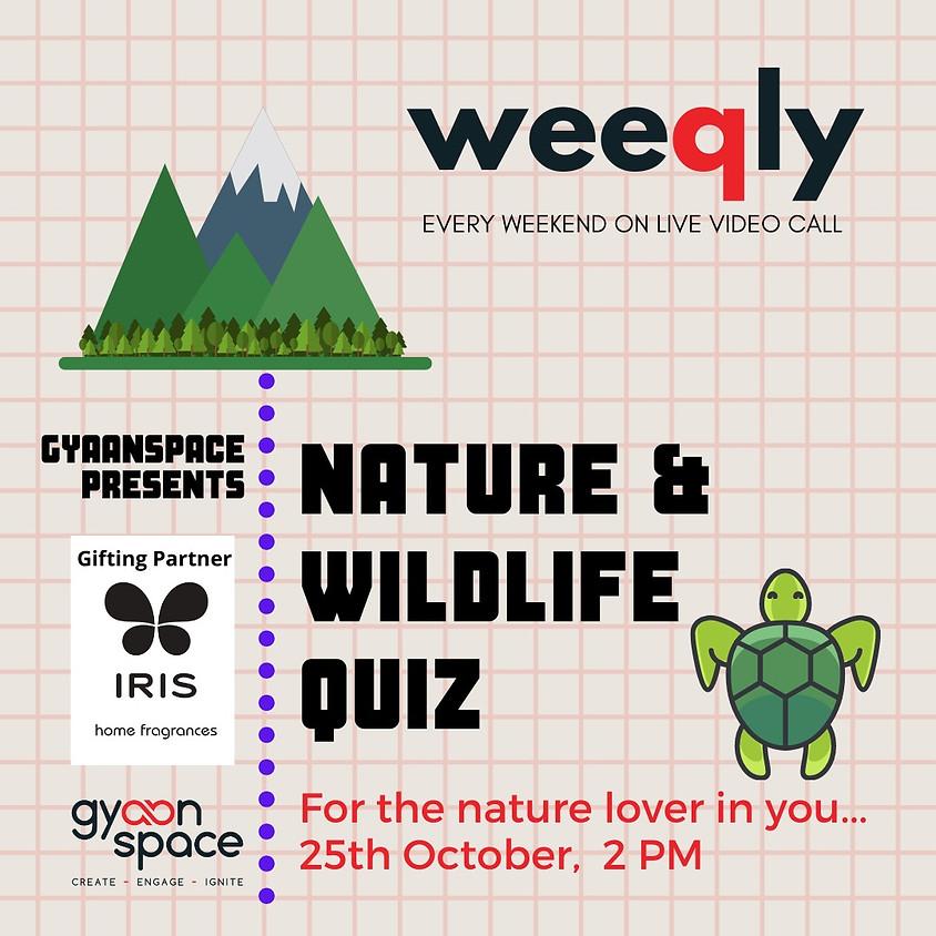 Nature & Wildlife Quiz