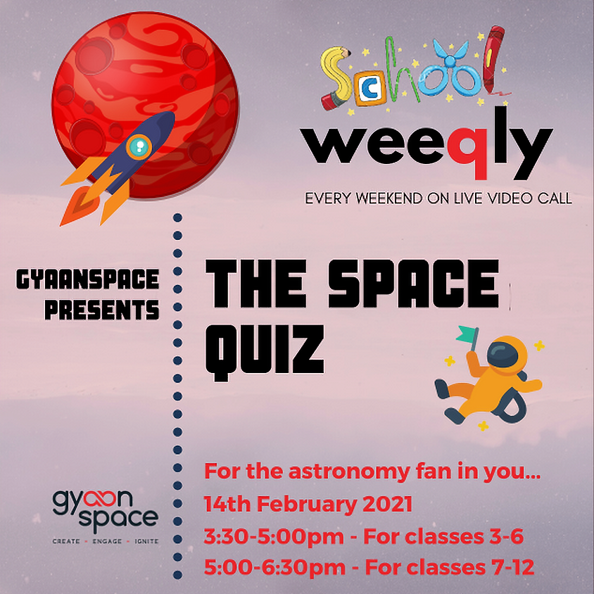Space Quiz For School Students
