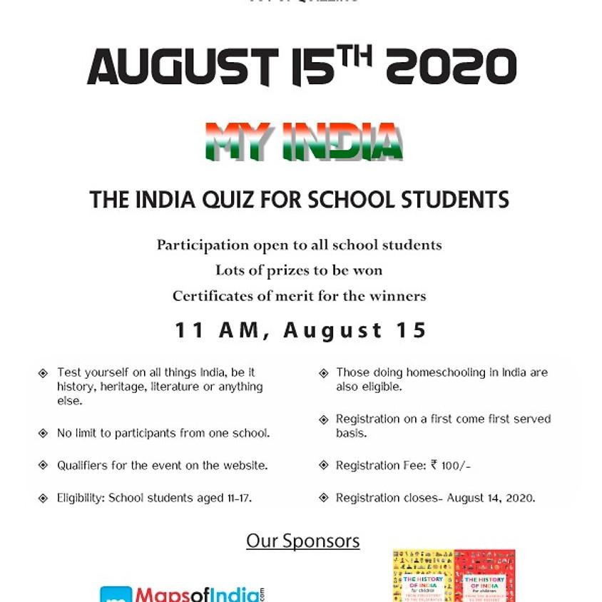 India Quiz for School Students