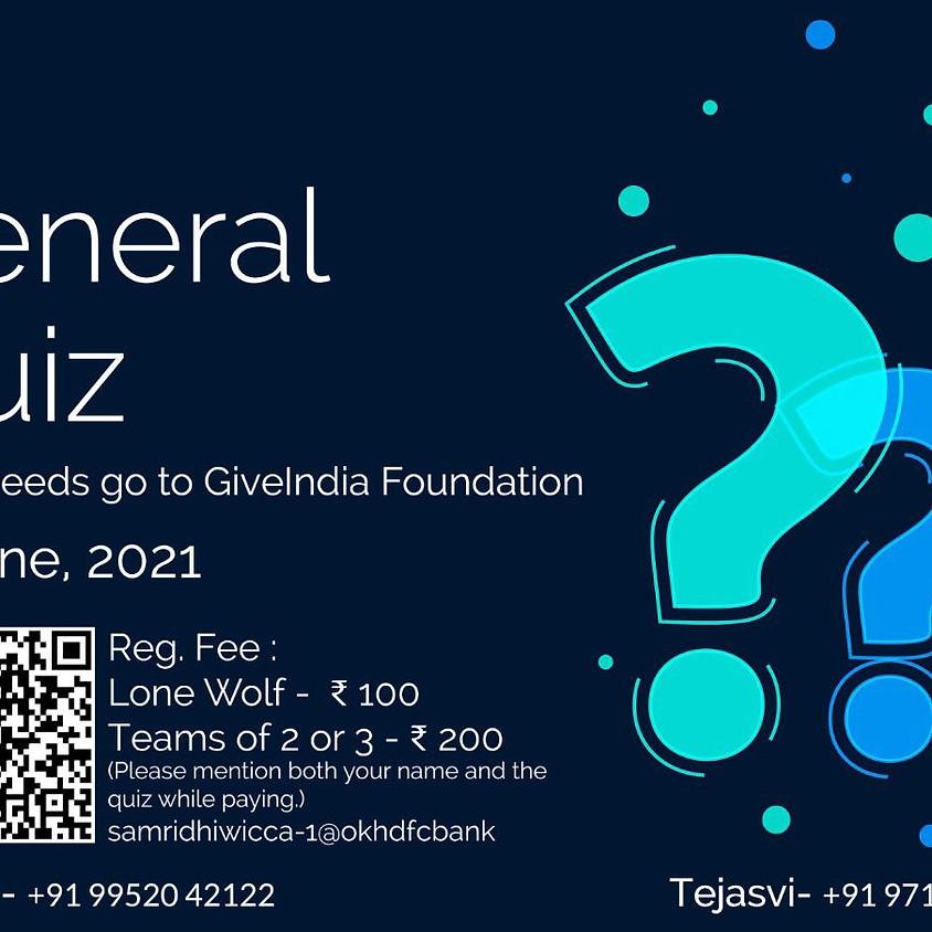 General Quiz (MCQC-VIT)