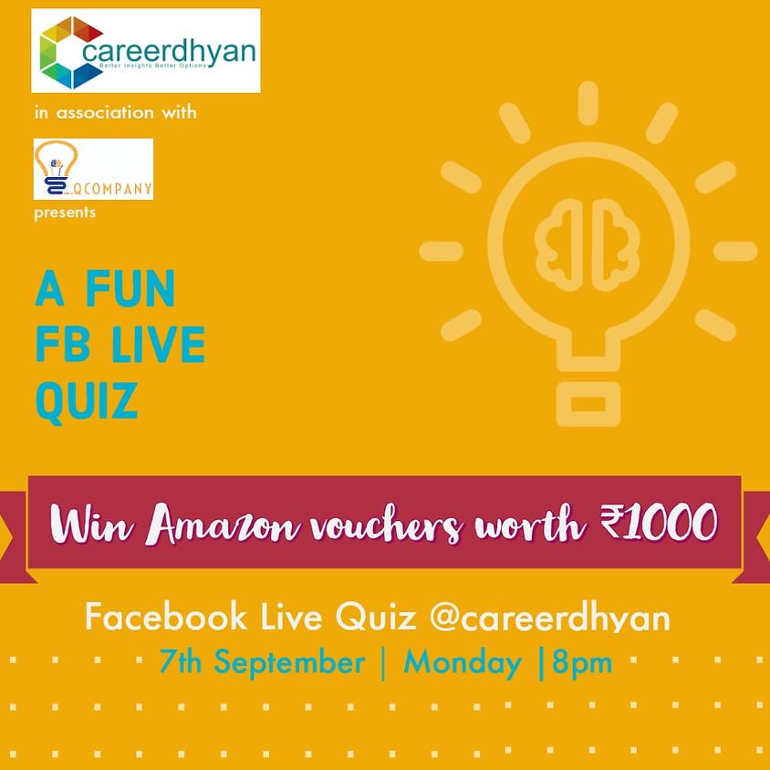 A Fun FB Live Quiz By Company