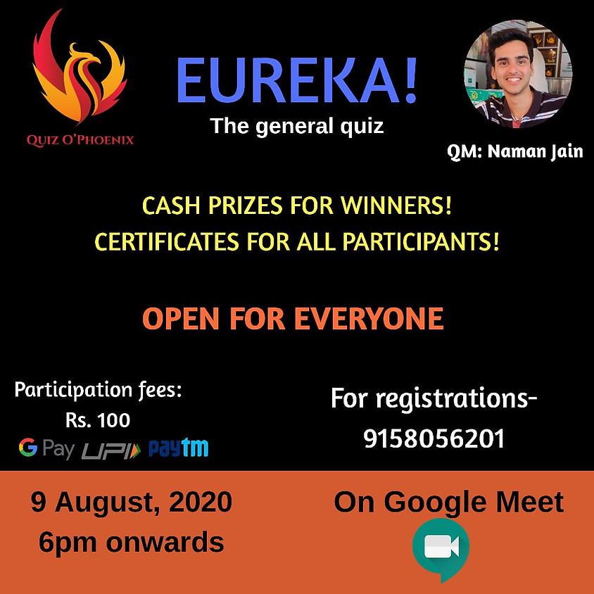 Eureka! The General Quiz By Quiz O'Phoenix