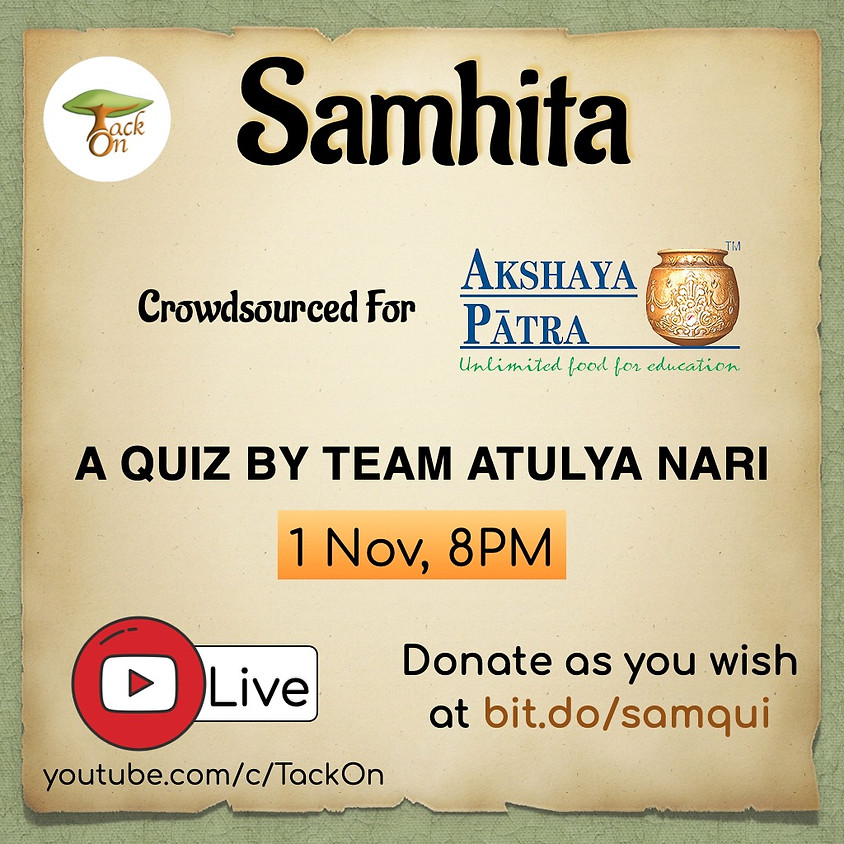 Samhita   A quiz by Team Atulya Nari
