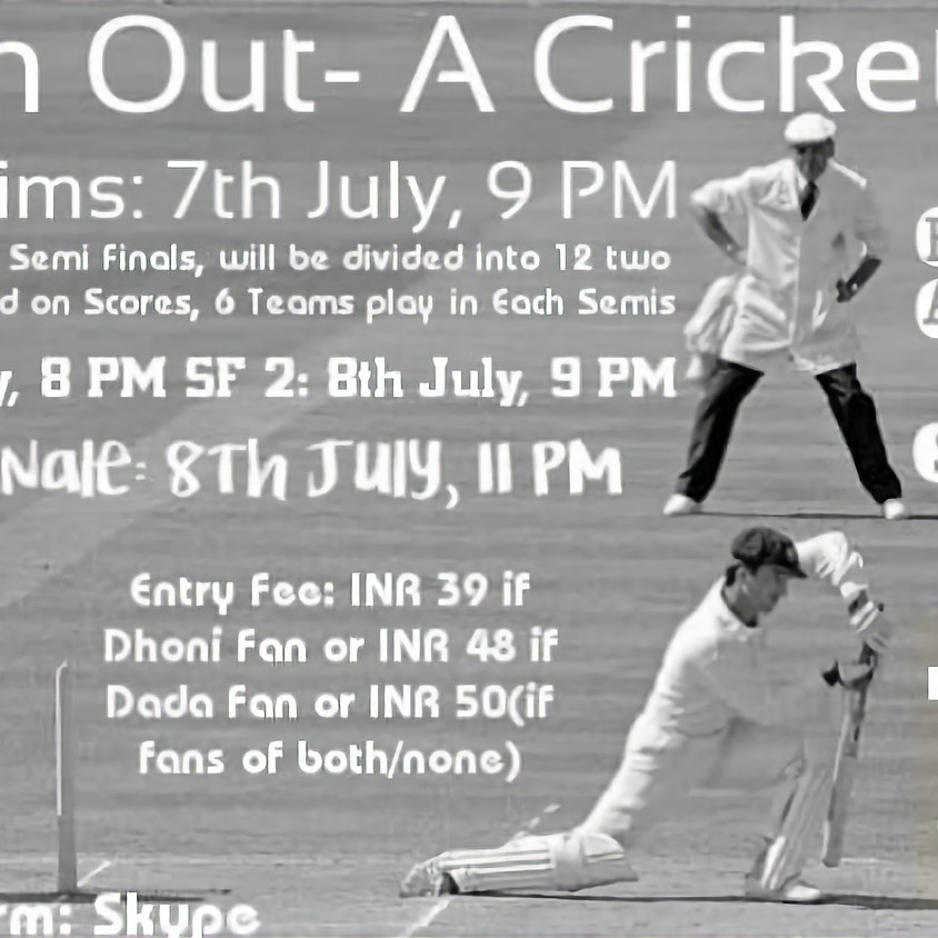 OVER n OUT - A Cricket Quiz   By Soahom Chakraborty, Dr. Aakash Roy