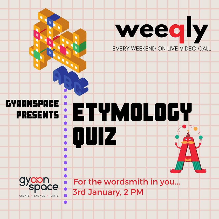 Etymology Quiz