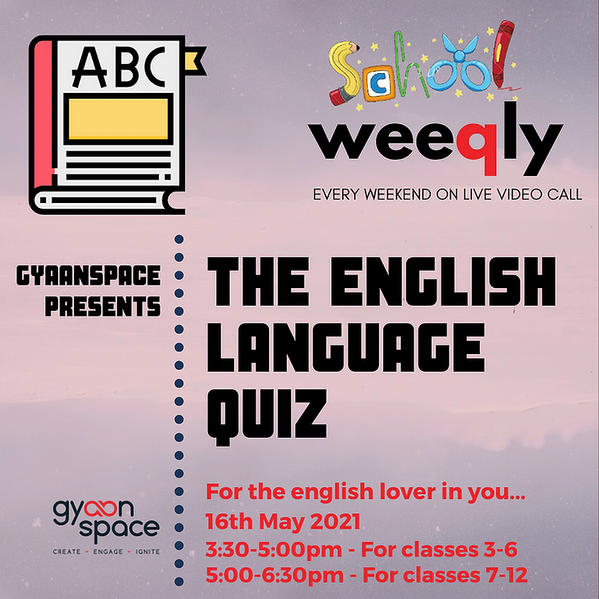 School Weeqly: English Language Quiz