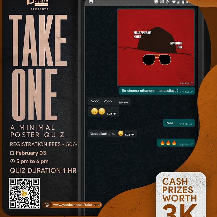 Take One - A Minimal Poster Quiz