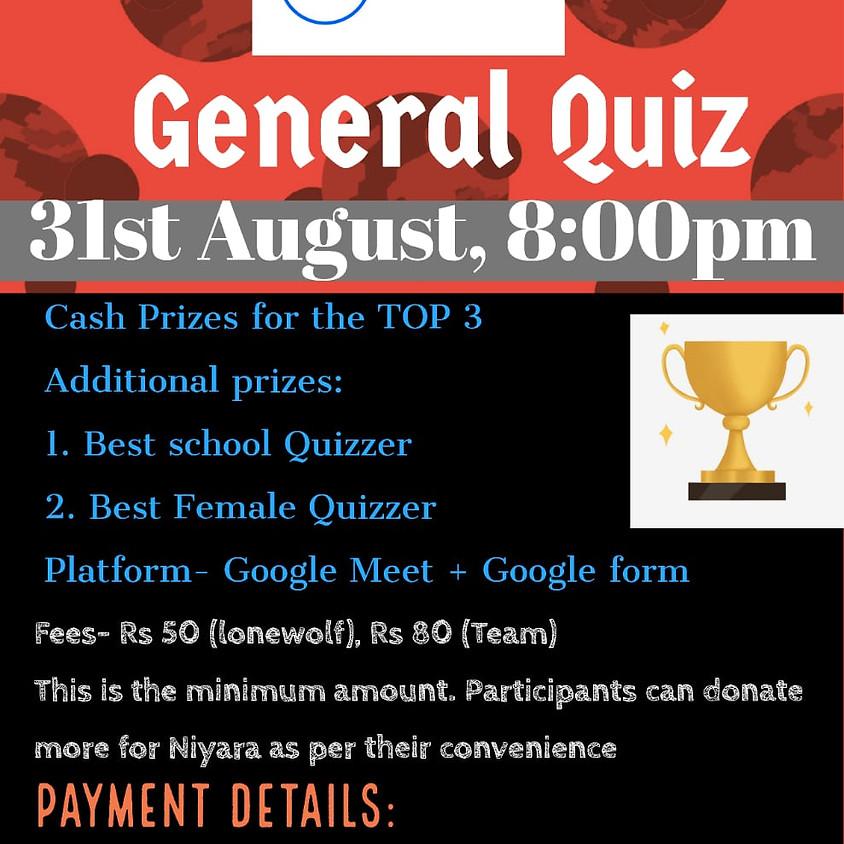 Fund Raiser Gen Quiz