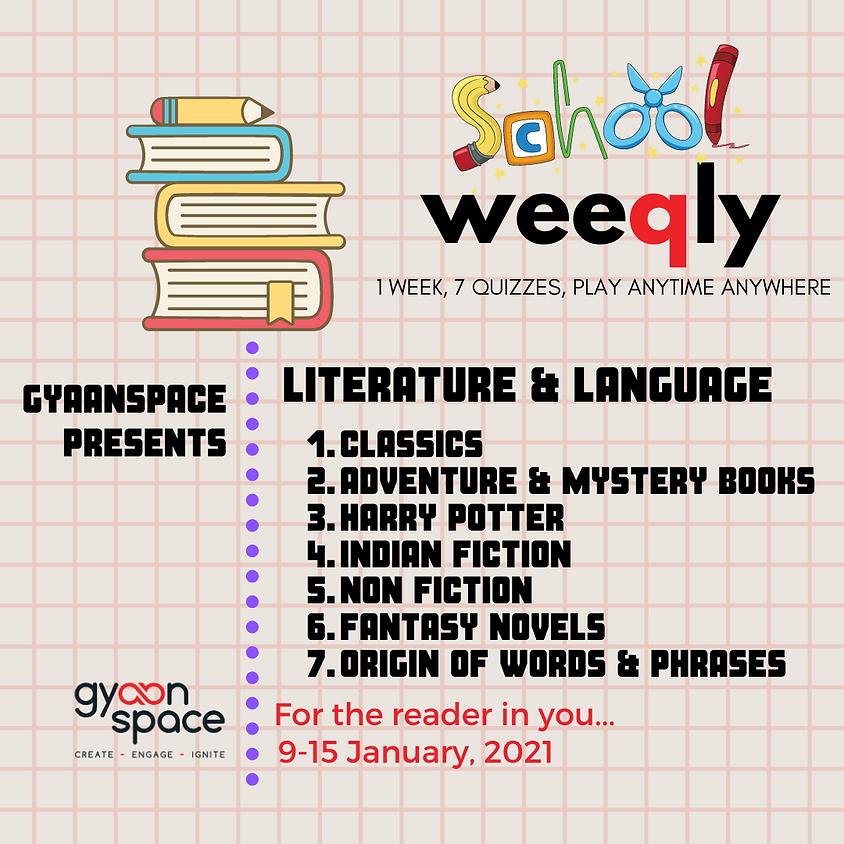 School Weeqly - Literature & Language series