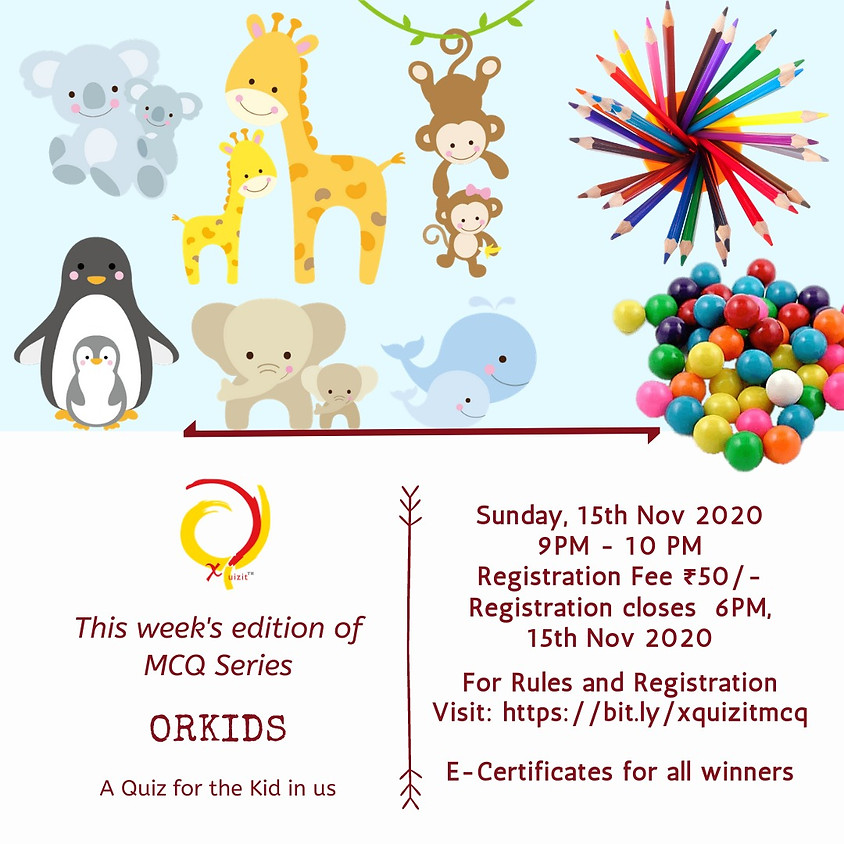 Orkids | MCQ by XQuizIt