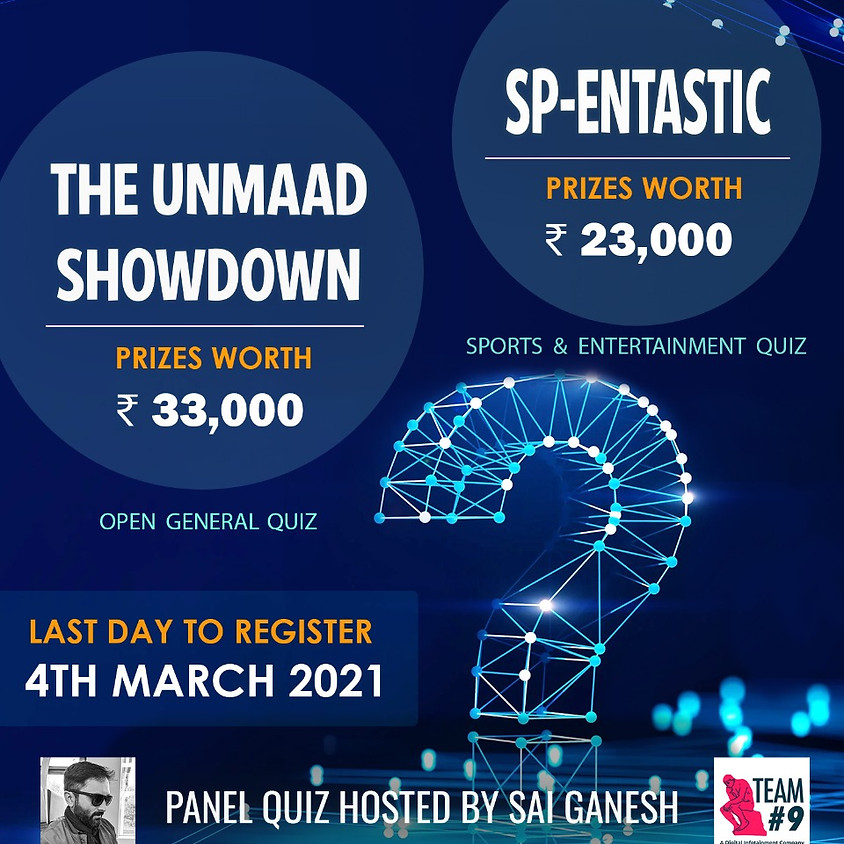 A General Open Quiz by IWTK and IIMB