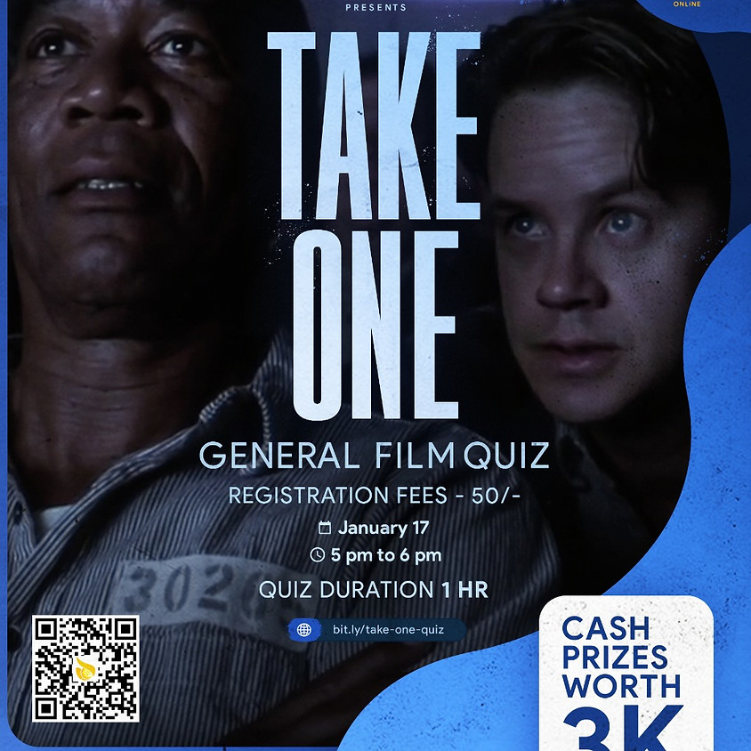 Take one- general film quiz