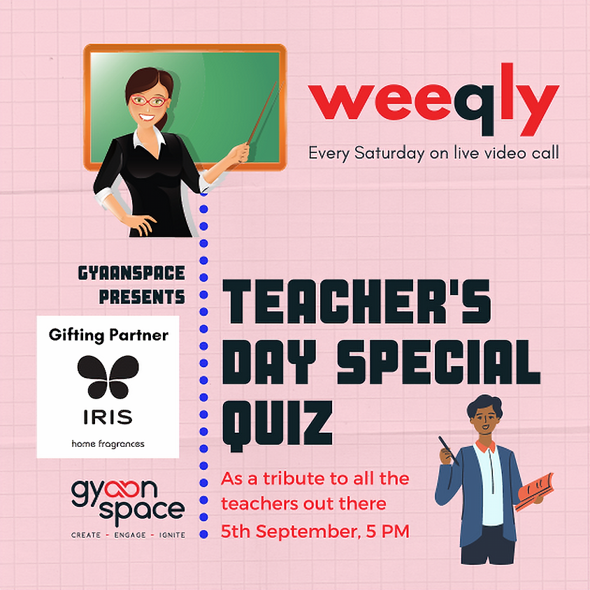 Teacher's Day special by Gyaanspace