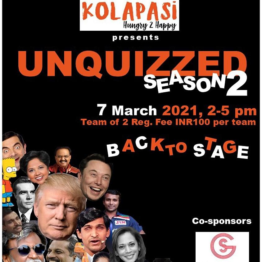 Unquizzed Season 2 by CQF