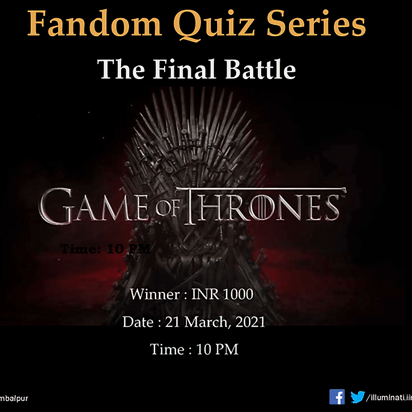 Fandom Quiz Series   The Final Battle   Game of Thrones