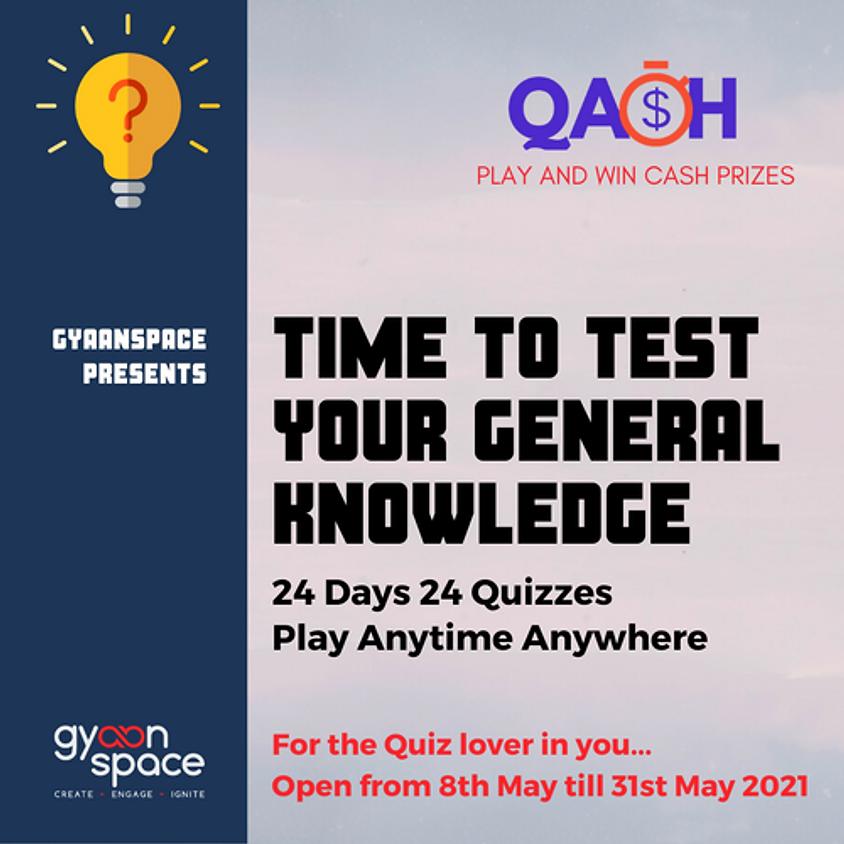 Qash online quiz series