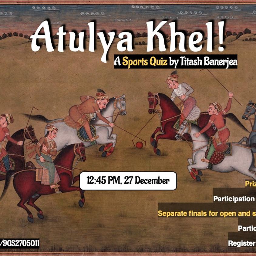 Atulya Khel! | Sports Quiz by TackOn and Gyaanspace