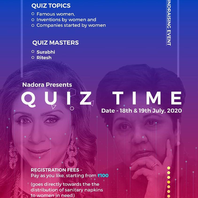 Fund Raiser Quiz By Naroda Initiative