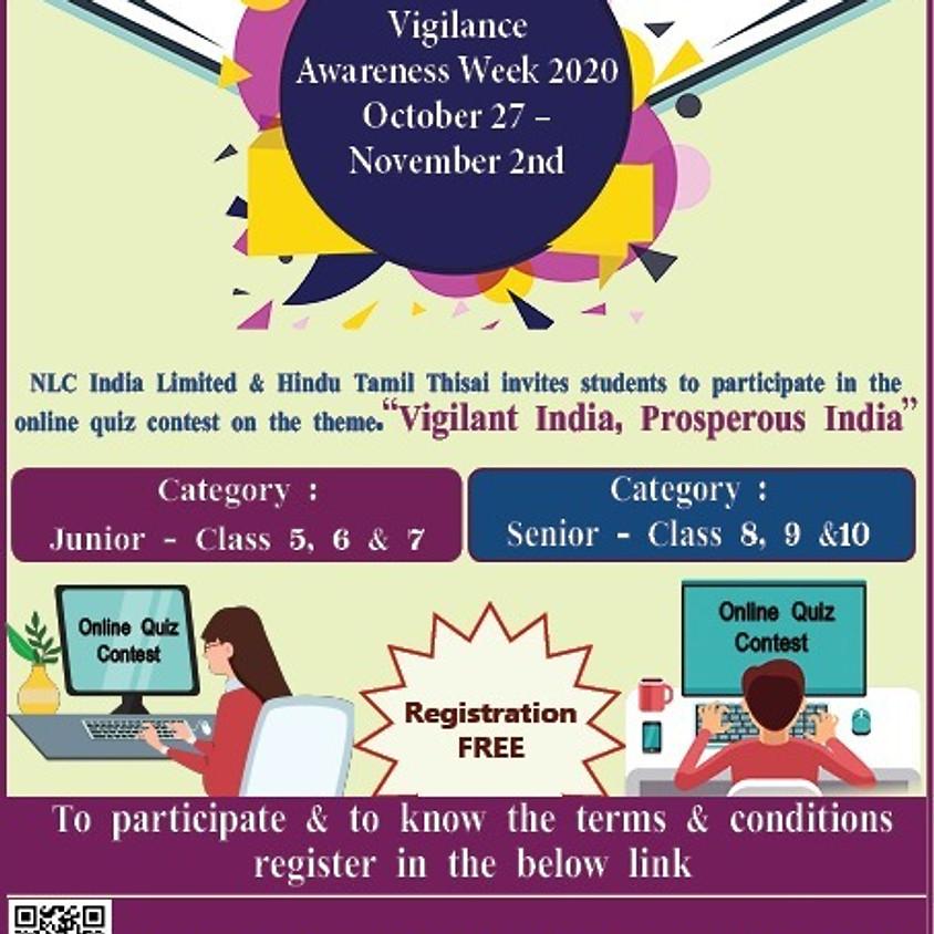 Vigilance Awareness Week Tamil Quiz