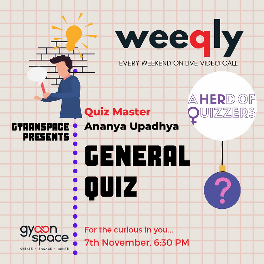 Weeqly - General Quiz by #aherdofquizzers