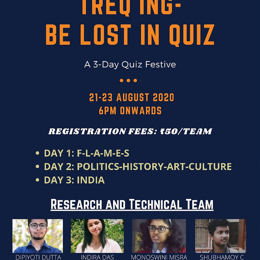 TreQing - Be Lost in Quiz