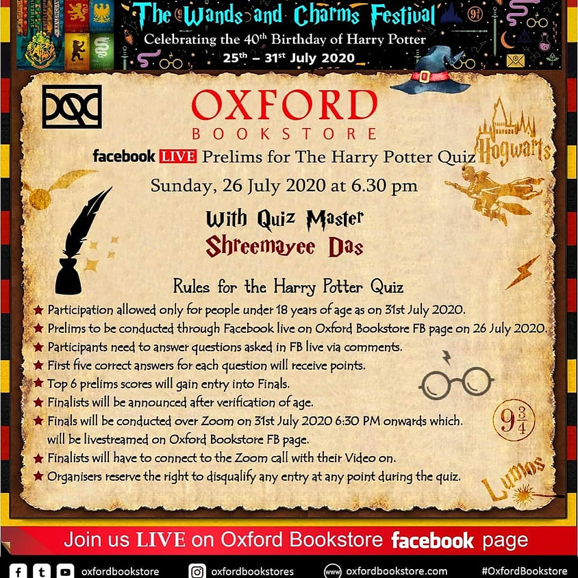 Quiz as the part of Wands and Charms Festival