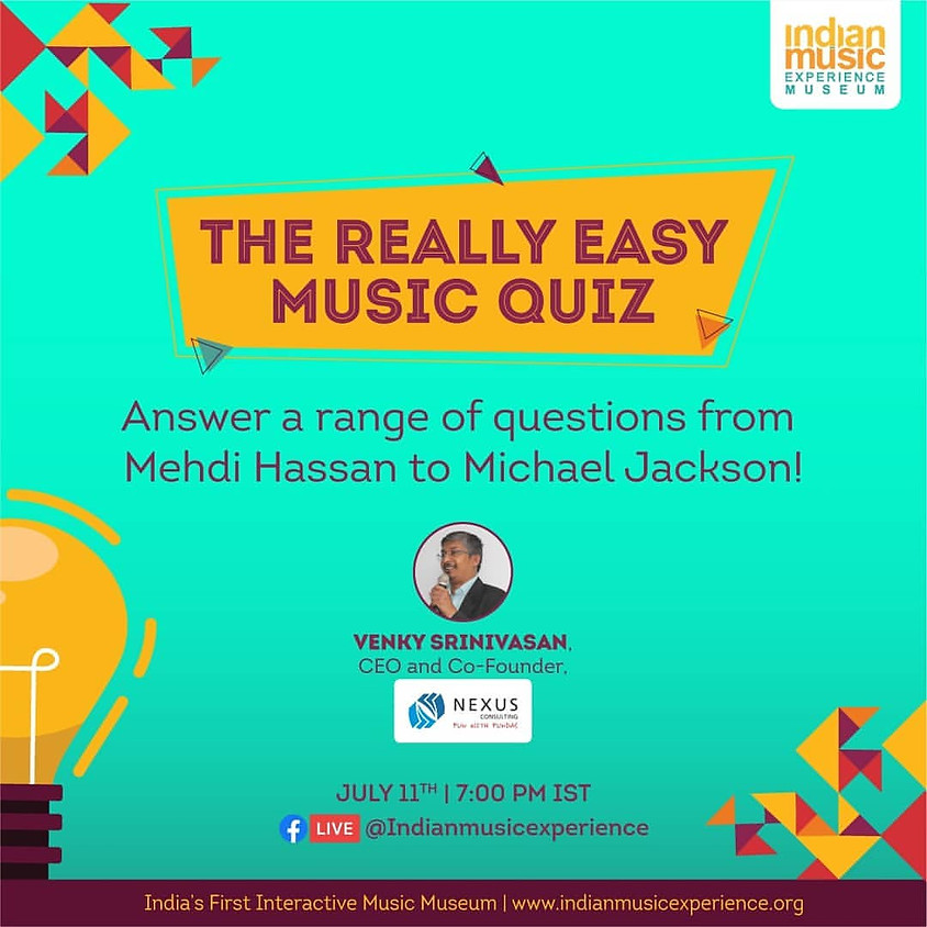 The Really Easy Music Quiz
