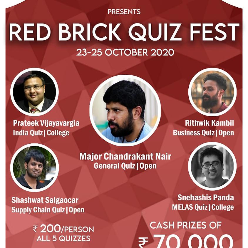Red Brick Quiz Fest | IIM-A