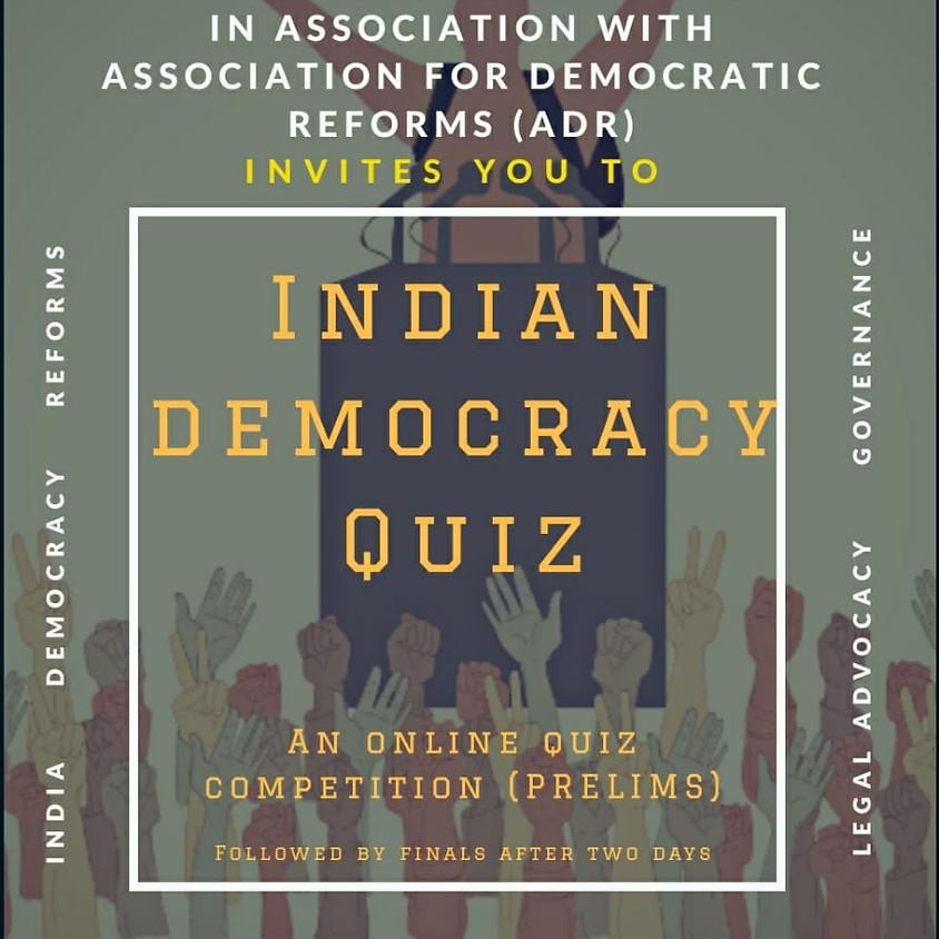 Indian Democracy Quiz