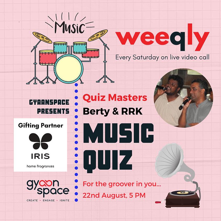Music Quiz by Berty & RRK