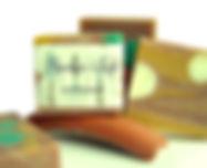 Handgemachte Gärtner-Seife mit Terracotta