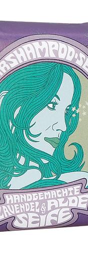 Lavendel-Haarshampoo-Seife