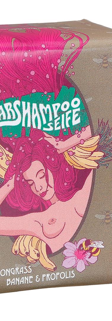 Banane-Haarshampoo-Seife