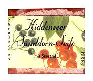 Handgemachte Hiddenseer Sanddorn-Seife