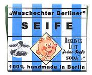 Handgemachte Waschechter Berliner Seife