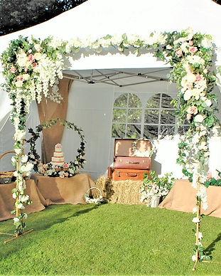 Wedding hire out items_ example