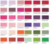 satin ribbon colour chart