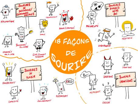LES 18 FAÇONS DE SOURIRE