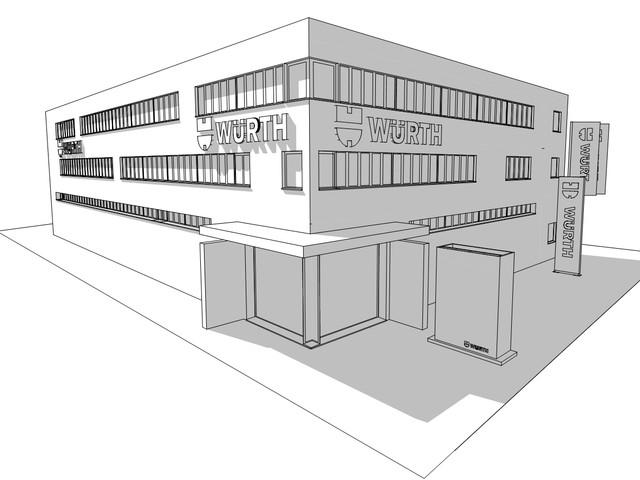Gewerbeanlage mit studentischem Wohnen Warburger Straße | Vellmar