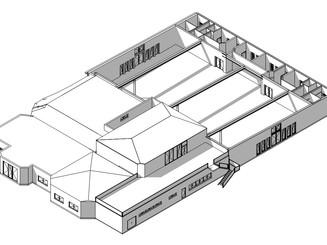 Erweiterung einer Hochzeitshalle Flugplatzstraße   Calden