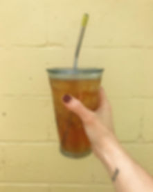 _ day nine_ sweet _ •_Sweet iced tea. Or