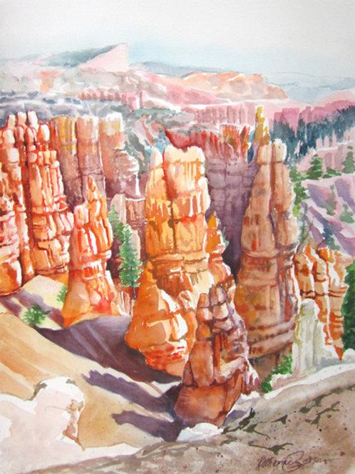 Bryce Canyon Hoodoo's Print