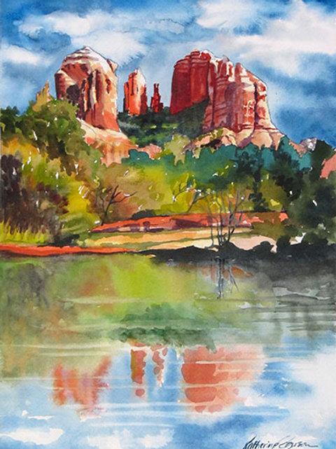 Sedona Reflections Print